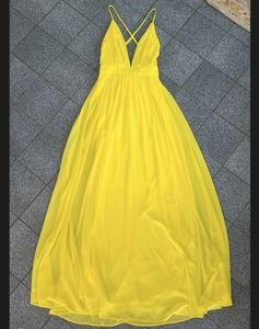 "Rubber Ducky ""Forever More"" Chiffon Gown"